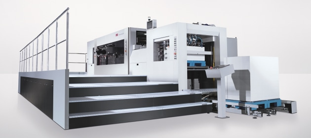 Die cutting: Heidelberg Powermatrix 106 CSB
