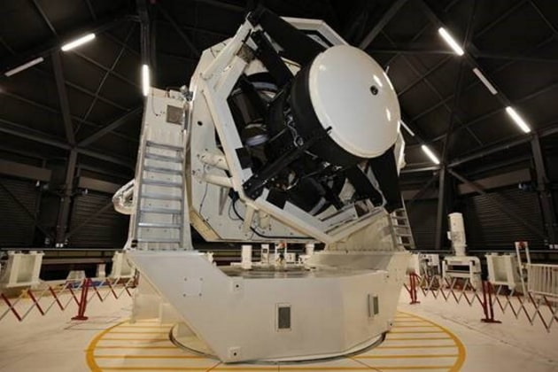 The telescope is expected to be fully operational in 2022.