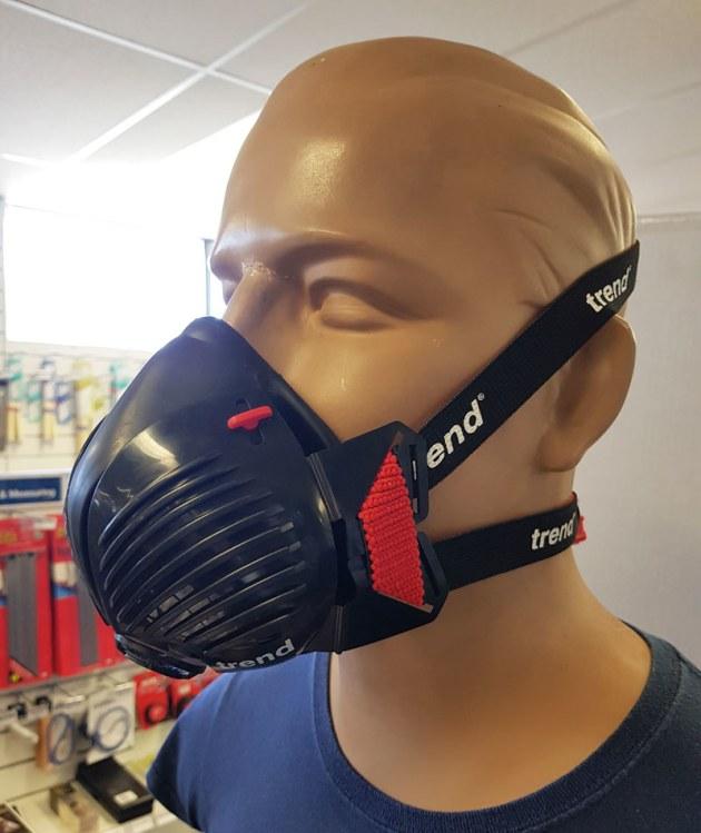 trend stealth half mask respirator
