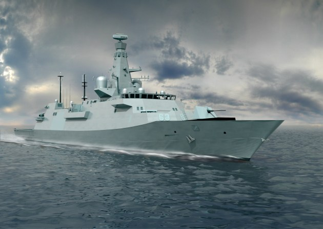 The Type 26 has been chosen as Canada's future frigate. BAE Systems