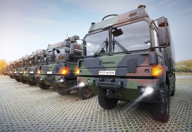 The vehicles will be available to support the Bundeswehr's Very High Readiness Joint Task Force (VJTF) 2023 mission. (Rheinmetall)