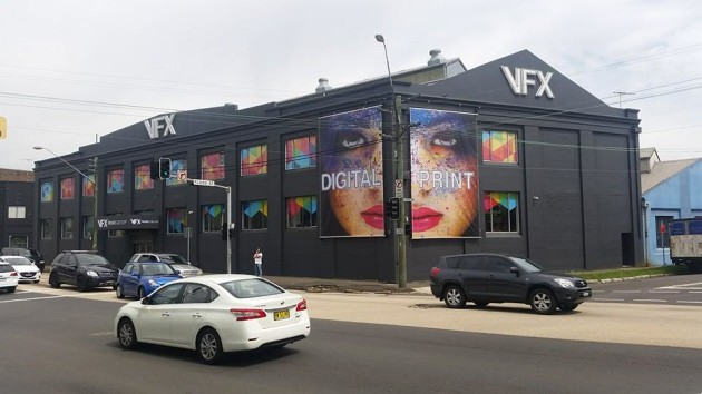 For rent: the iconic VFX building on Parramatta Road, Leichhardt (Image: VFX Print Group)