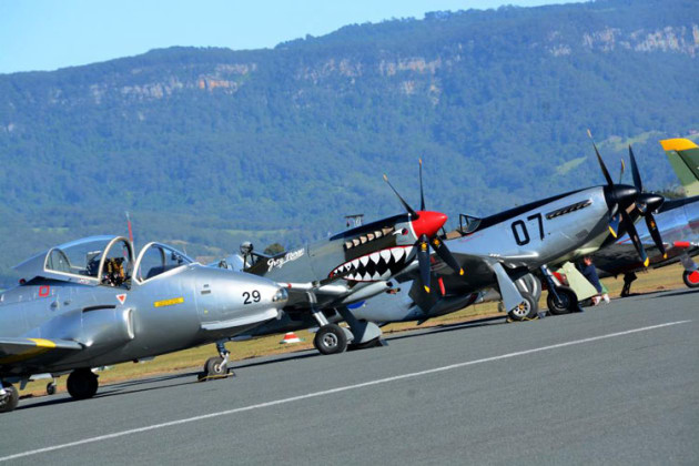 Either private or from Temora, WOI has always boasted a healthy line-up of warbirds.