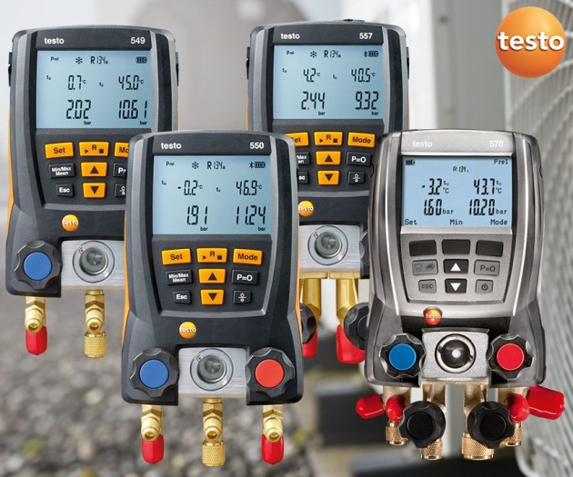 New refrigerants for testo manifolds - Climate Control News
