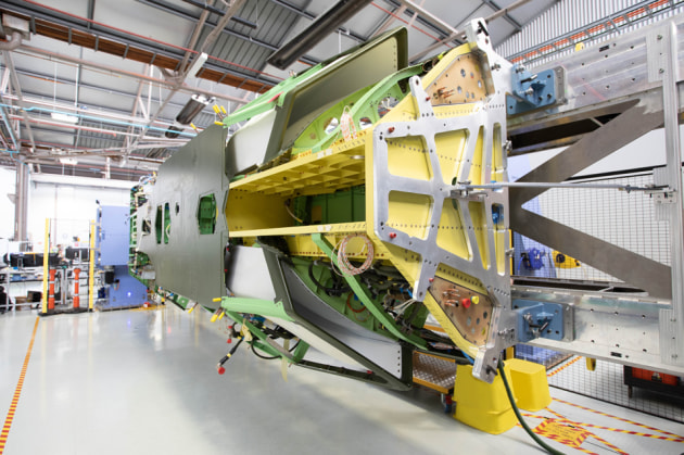 Boeing Australia has completed the major fuselage structural assembly for its first Loyal Wingman aircraft.
