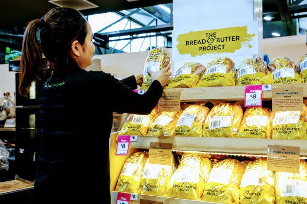 Woolworths Metro has partnered with the social enterprise Bread & Butter Project helping keep the program running during COVID-19 restrictions.