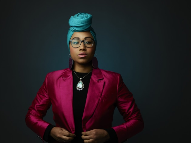 © Kristoffer Paulsen. Yassmin Abdel-Magied, photographed for Good Weekend.