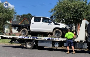 Ute Seized - After A Spate of Alleged Illegal Hunting Incidents