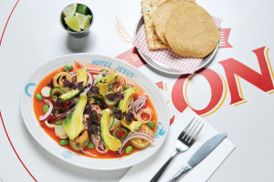 Recipe: Luke Hammond's vegan palmito ceviche