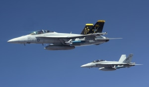 A decade of Super Hornets