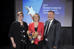 DST Group scientist recognised for improving naval fire safety