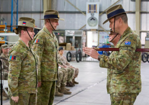First female commander for Australian troops in Middle East
