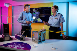 UNSW and RAAF launch CubeSat satellites