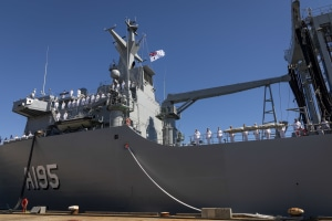 Navy commissions HMAS Supply