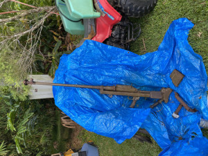 55 Calibre Anti-Tank Gun Seized with Other Firearms