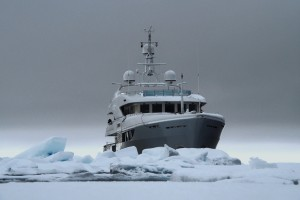 Northwest Passage - the leading challenge for superyacht designers