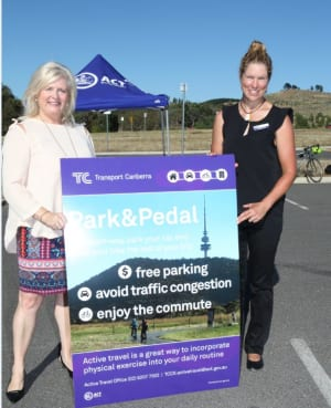 ACT Government Launches Park and Pedal Initiative