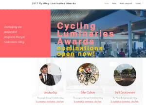 Nominations Called for 2017 Cycling Luminary Awards
