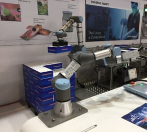 Robots strut their stuff at Auspack