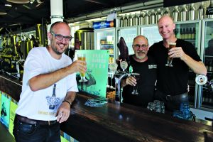 Crafting beer for a cause