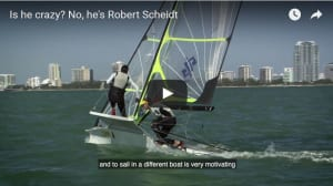 How World Sailing treats its legends - Robert Scheidt not invited to World Cup