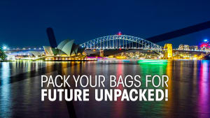LIVE: Who's coming to Future Unpacked in Sydney?