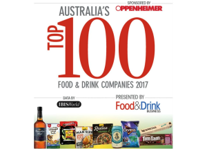EXCLUSIVE: Australia's Top 100 Food & Drink Companies 2017