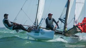Video wrap from the Nacra 17, 49er and 49erFX World Championships