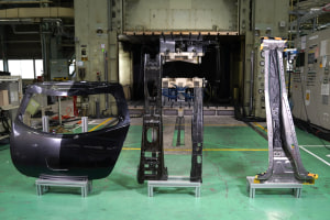 Nissan breakthrough with carbon fibre manufacture