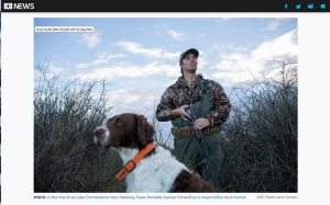ABC Report Puts Duck Hunters' Side - for once