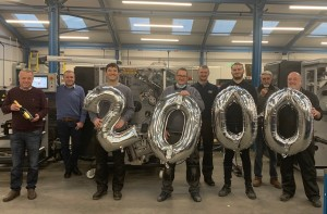 A B Graphic installs 2000th Vectra rewinder