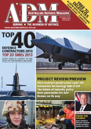 ADM's 2013 Top 40 Defence Contractors and Top 20 Defence SME survey results released