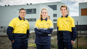 Hunter class program welcomes first apprentices