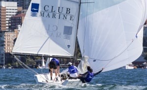 Hodgson in charge on Day 1 of Australian Youth Match Racing Championship