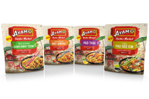 Street food feel for Ayam sauce pouch