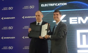 Embraer signs electric flight partnership agreement