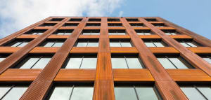 Wood improves air quality, moderates humidity