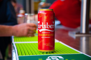 Carlsberg turns red for Liverpool win