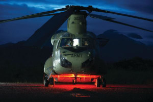 Local businesses engaged for Chinook facilities
