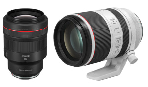 Canon completes the trinity with RF 70-200mm f/2.8L IS and the RF 85mm f/1.2L DS IS lenses