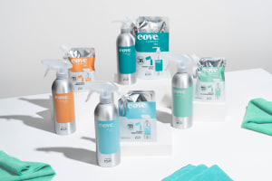 Cove cleaning products launch in refillable packs