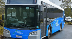 Hybrid diesel-electric shuttle buses set for Cradle Mountain