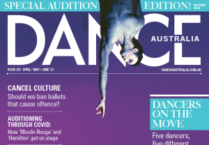 What's in the next issue of Dance Australia?