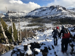 Overland Track winter walk is one for the books