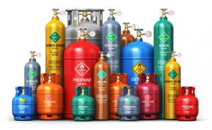 Fine issued for disposable gas cylinders