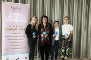 Winners of the 2018 Nestlé Professional Women in Foodservice Awards revealed