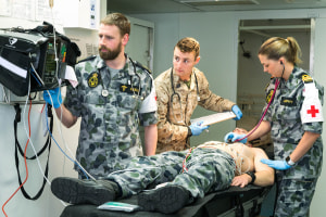 Saab chosen for deployable health solution