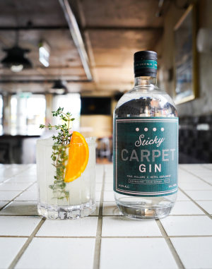 Bar in a bottle: Four Pillars release Sticky Carpet Gin
