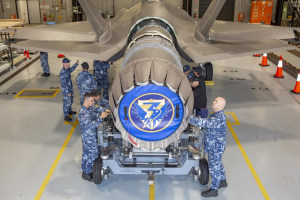 RAAF and industry complete first Australian F-35A engine removal