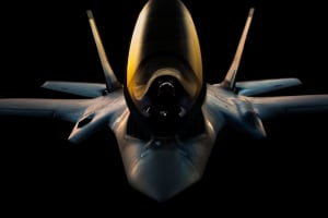 RUAG Australia unveils new paint booth for F-35s